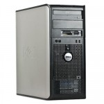 Komputer DELL 380 C2D E7600/4GB/160GB/DVD/WIN7/TOWER