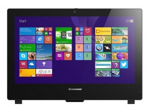 "ALL IN ONE AIO Komputer Lenovo S50-30 i3 4005U 4GB 500GB 23"" LED WiFi  Kamera"