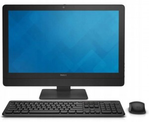 ALL IN ONE AIO Komputer Dell 9030 i3 4130 4GB 120GB SSD W7 23 WiFi LED