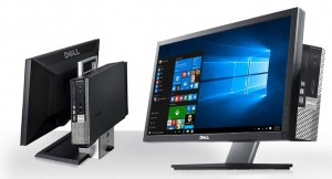 "ALL IN ONE Komputer DELL 7010 i3 3220 4GB 250GB WIN7 SFF + 22"" LED DELL P2213 AIO"