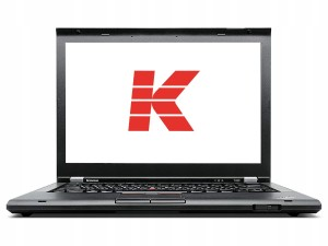 Laptop Lenovo T430i i3 4GB 320GB Windows 7/10