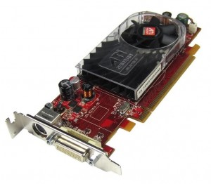 Karta ATI Radeon HD 2400 256MB low DMS grafika