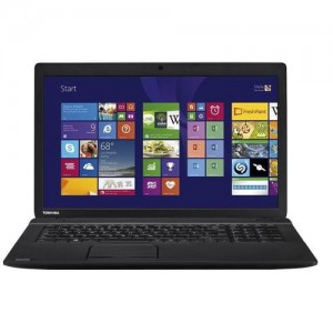 "Laptop TOSHIBA Satellite C70-B 17"" i3 4gen. 8GB 180GB SSD HD+ Windows 8/10"